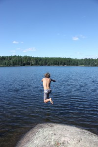 BWCA lake perfect for swimming