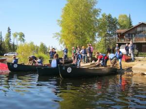 Canoeing on Sag