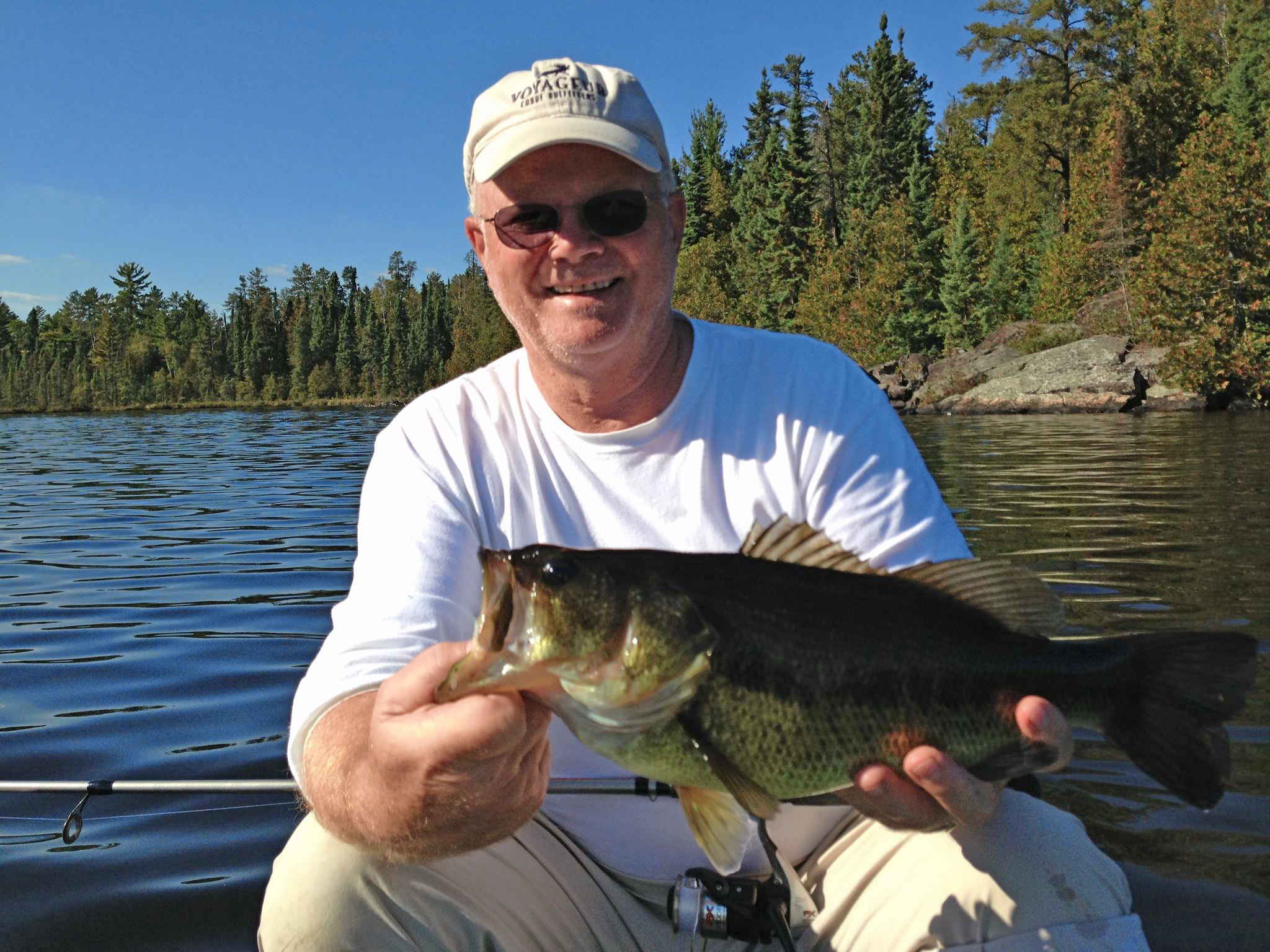 Guests of voyageur send photos boundary waters blog for Boundary waters fishing