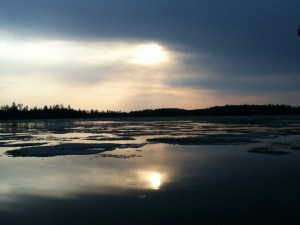 Boundary Waters Ice Out