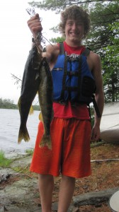 Walleye from the Quetico Park