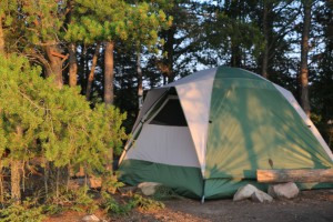 Camping in the Boundary Waters