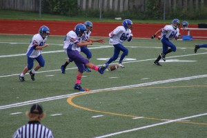 Josh as kicker
