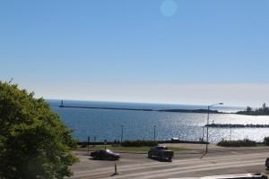 View of Grand Marais Harbor