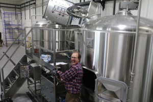 Brewing in Grand Marais, Minnesota