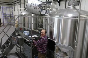 Brewing in Grand Marais, Minnesota