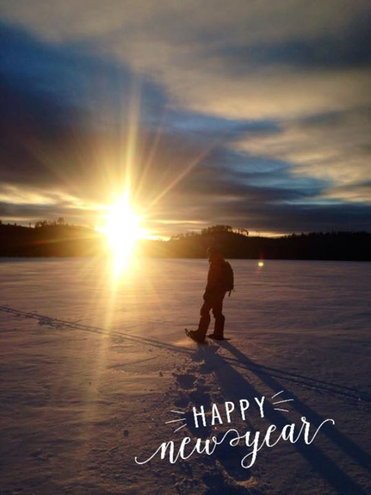 Happy New Year from Voyageur Canoe Outfitters