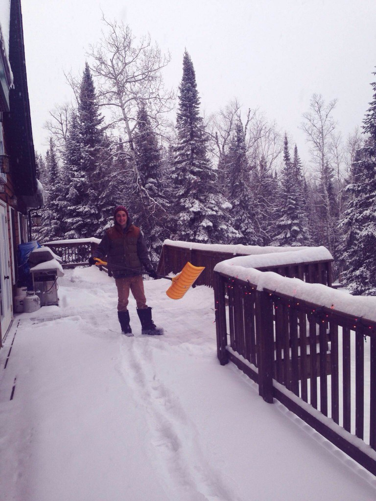 Winter at Voyageur Canoe Outfitters