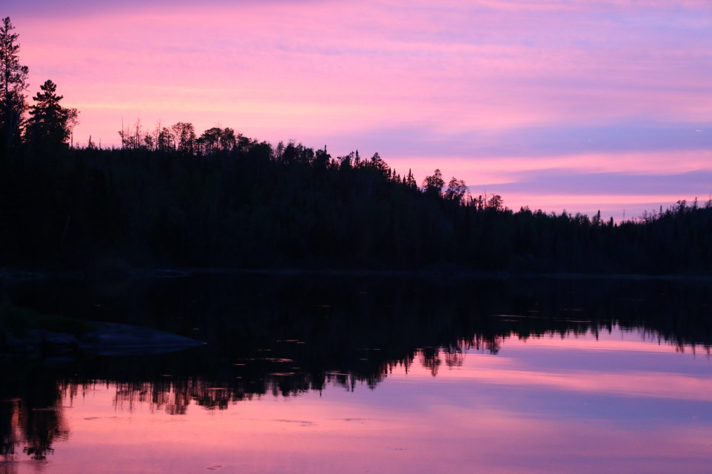 Boundary Waters Sunset