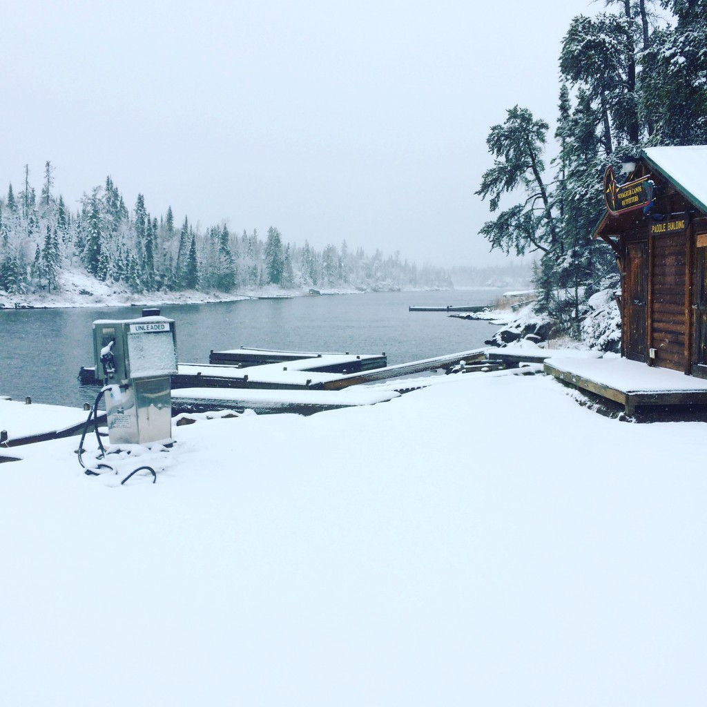 Gunflint Snow
