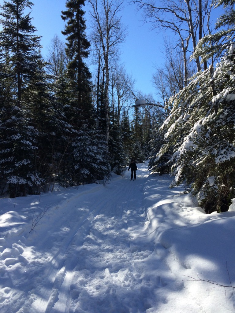 Gunflint Trail cross-country skiing