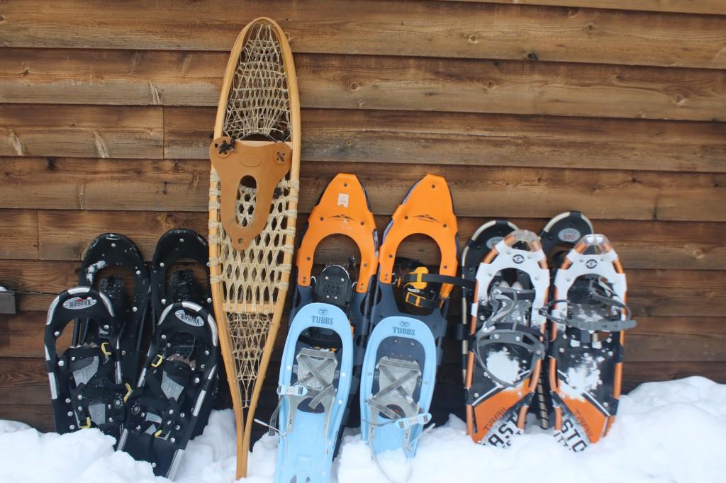 Snowshoeing Gunflint Trail