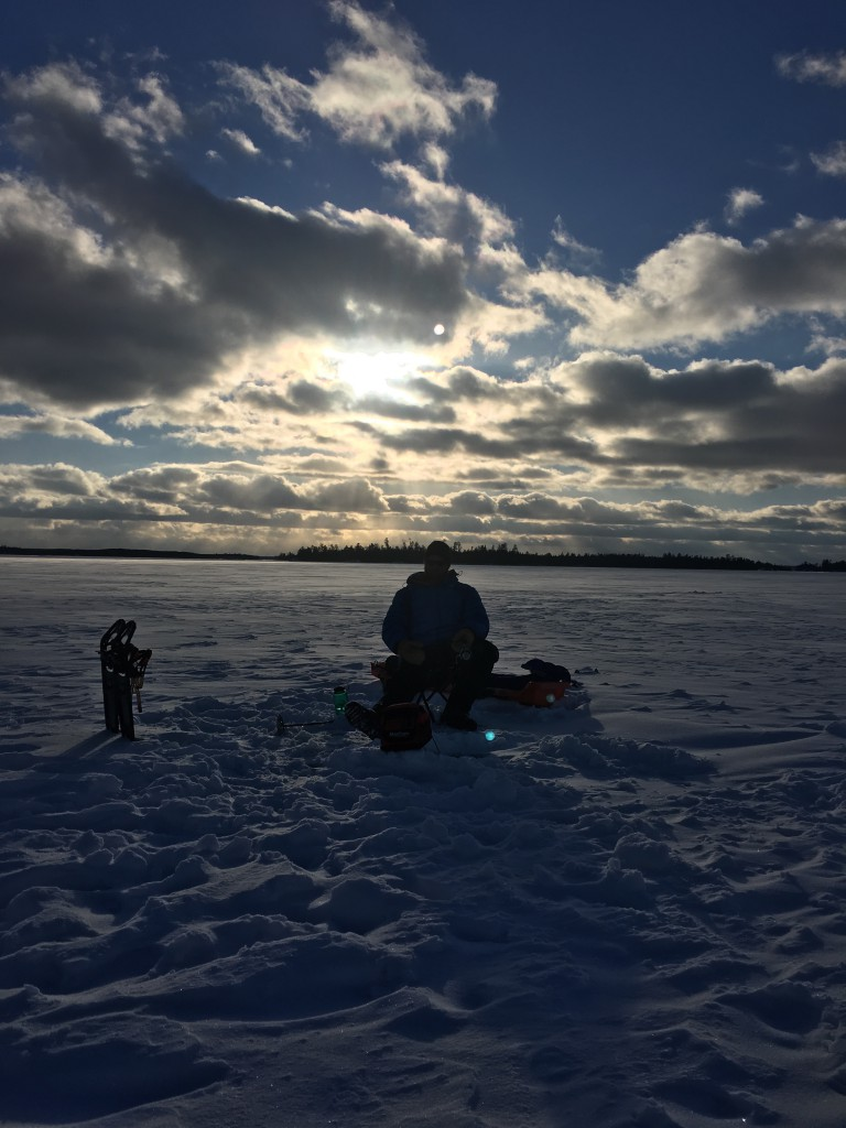 Fishing on the Gunflint Trail