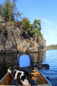 canoeing the Boundary Waters