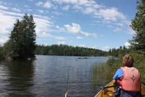 canoe trip in the BWCA