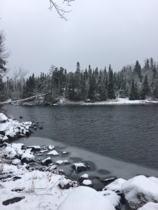 Gunflint Trail snow