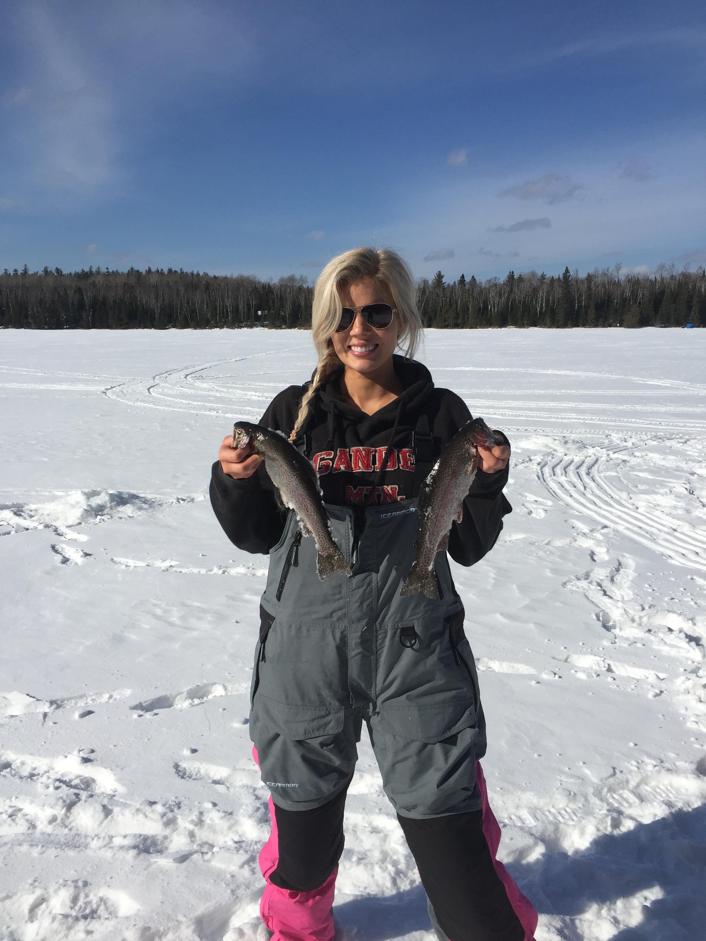 Ice Fishing Success In The BWCA