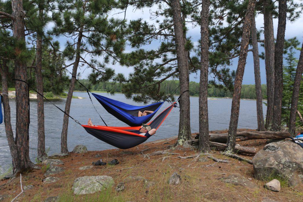Quetico Park hammock time