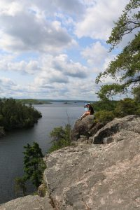 View of the Boundary Waters