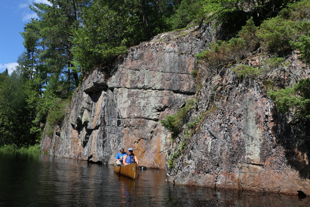 Wilderness Canoe trips