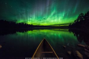 Boundary Waters night sky bortle one