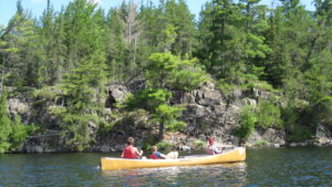 canoeing the bwca
