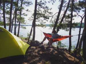 Boundary Waters campsite