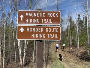 Hiking the Magnetic Rock Trail