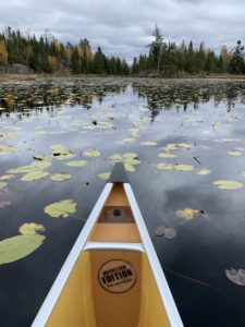 Canoe trip into the Boundary Waters