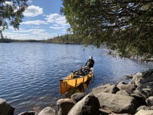 paddling the BWCAW