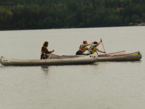 Clash of canoe races