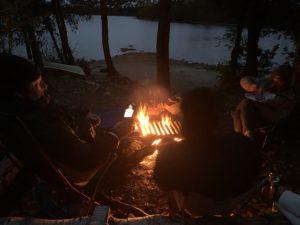 BWCAW campfire fun