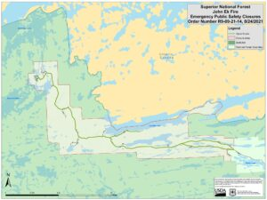 Closures on the Gunflint Trail
