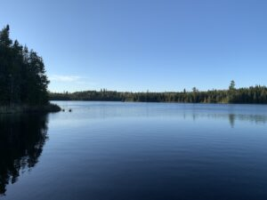 camping in the Superior National Forest